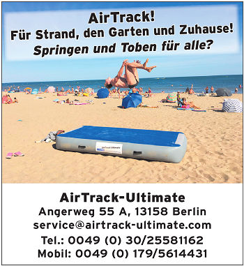 Airtrack Ultimate Werbung